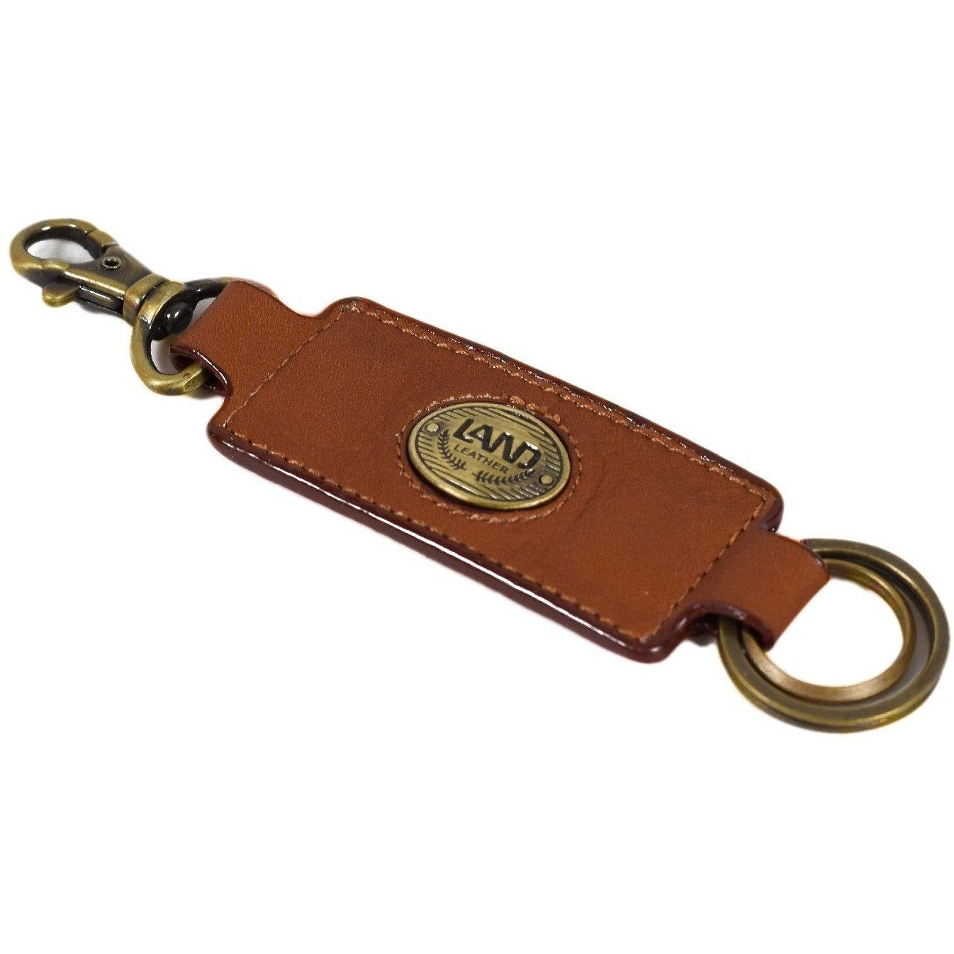 Santa Fe Key Ring, Key Ring | LAND Leather