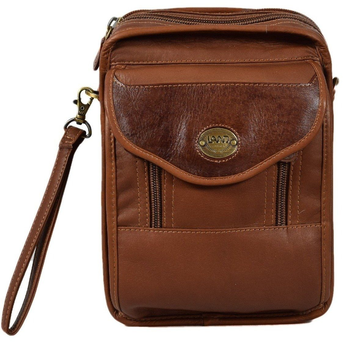 Santa Fe Day Bag, Travel Organizer | LAND Leather