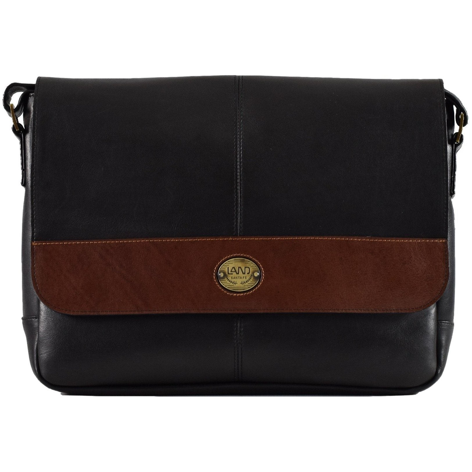 Santa Fe Unisex Messenger, Messenger Bag | LAND Leather