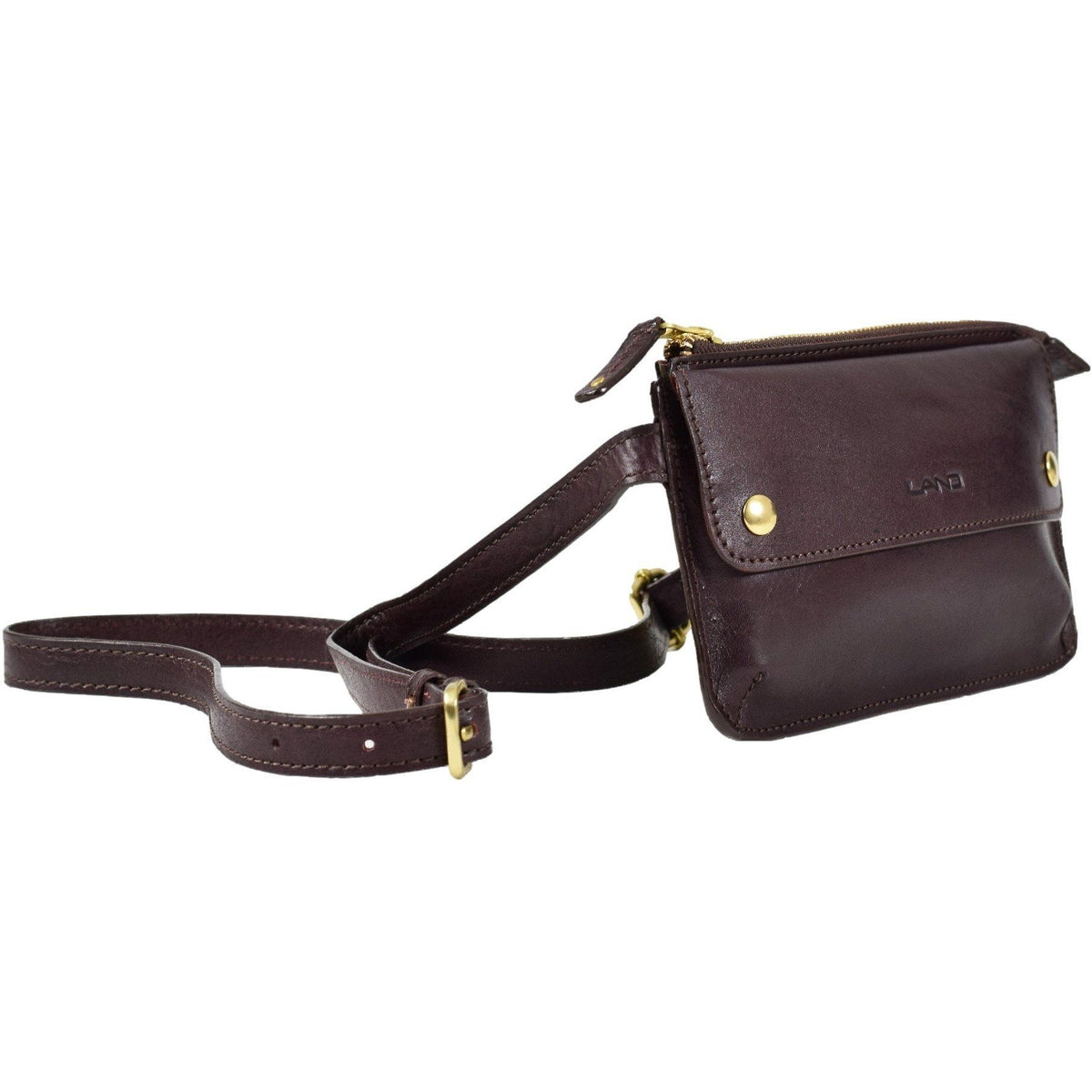 Limited Waist Bag, Fanny Pack | LAND Leather