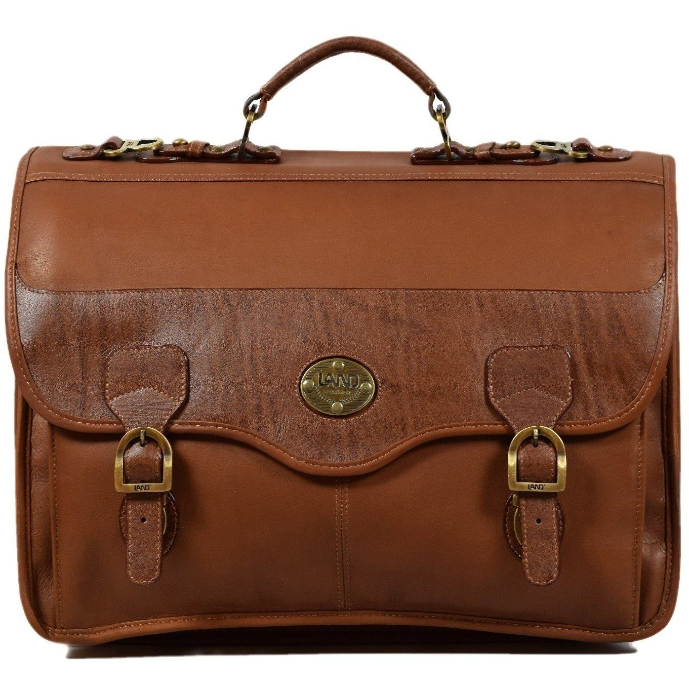 Santa Fe Briefcase, Briefcase | LAND Leather
