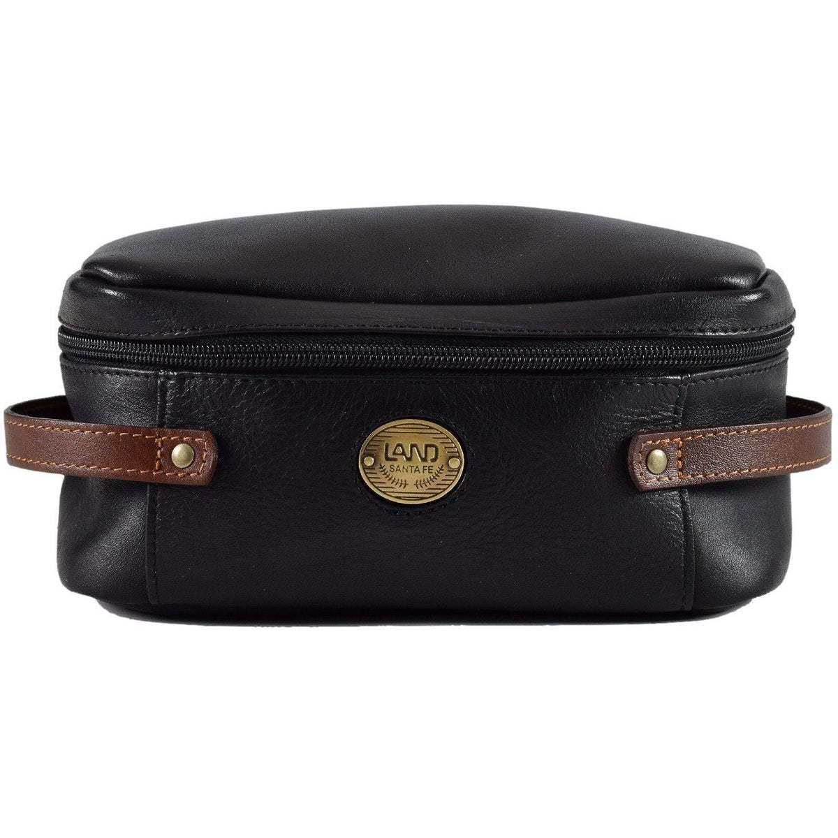 Santa Fe Brisbane Toiletry Kit, Toiletry Bag | LAND Leather