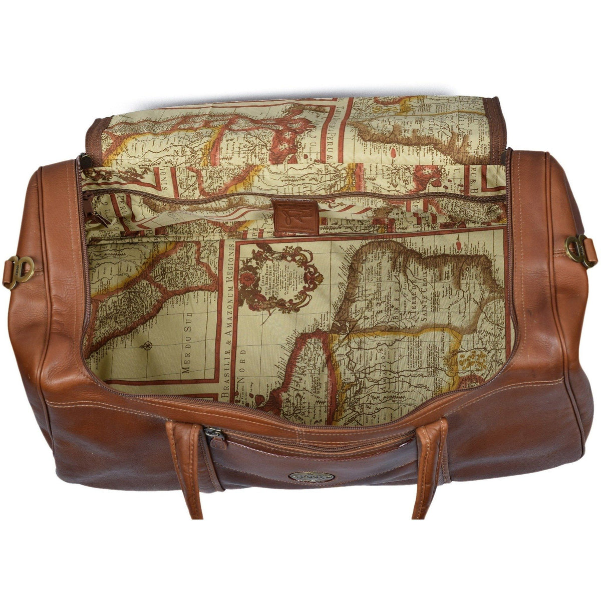 Santa Fe San Fran Duffel Bag, Duffel Bag | LAND Leather
