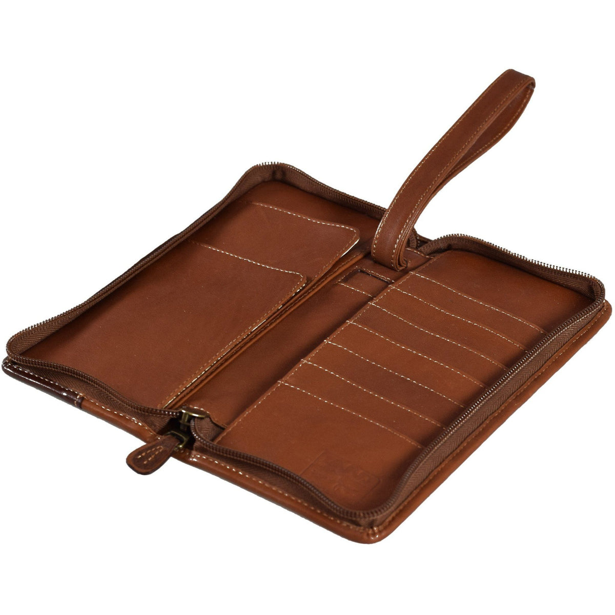 Santa Fe Zip Around Travel Organizer, Travel Organizer | LAND Leather