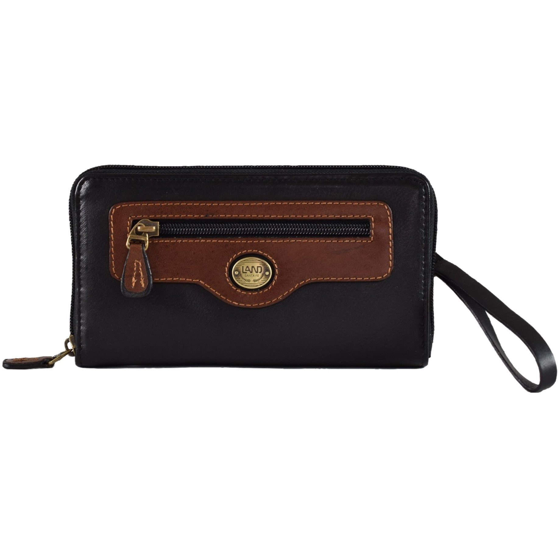 Santa Fe Ladies Wristlet, Wallet | LAND Leather