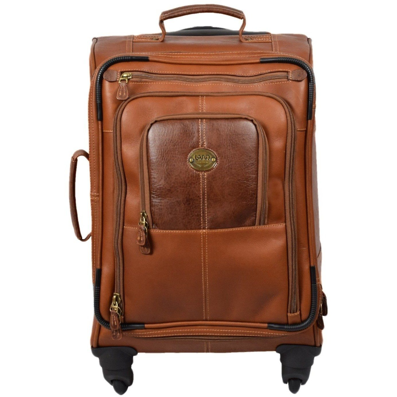 Santa Fe Spinner Carry On, Carry On | LAND Leather
