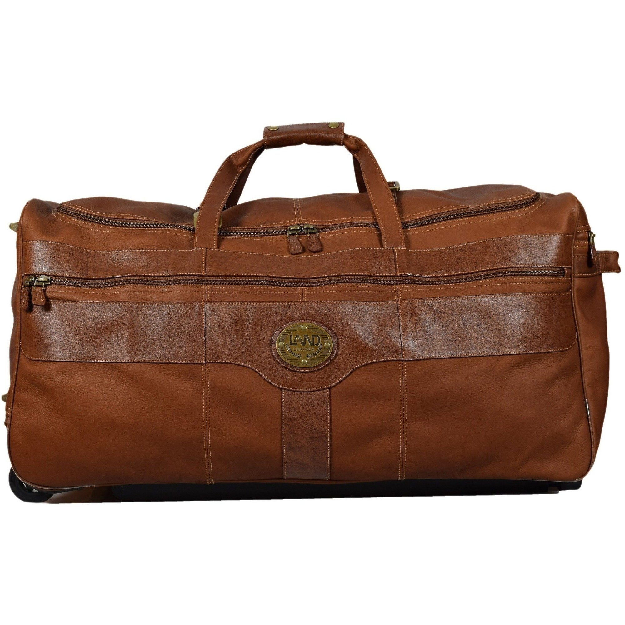 Santa Fe Super Wheeled Duffel, Duffel Bag | LAND Leather