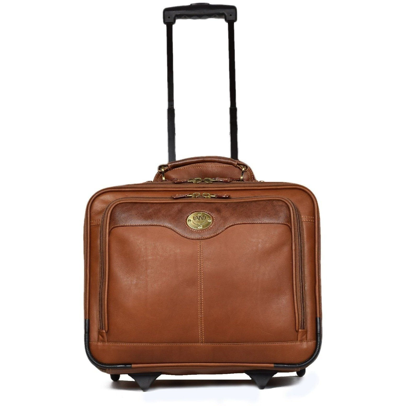 Santa Fe Wheeled Briefcase, Briefcase | LAND Leather