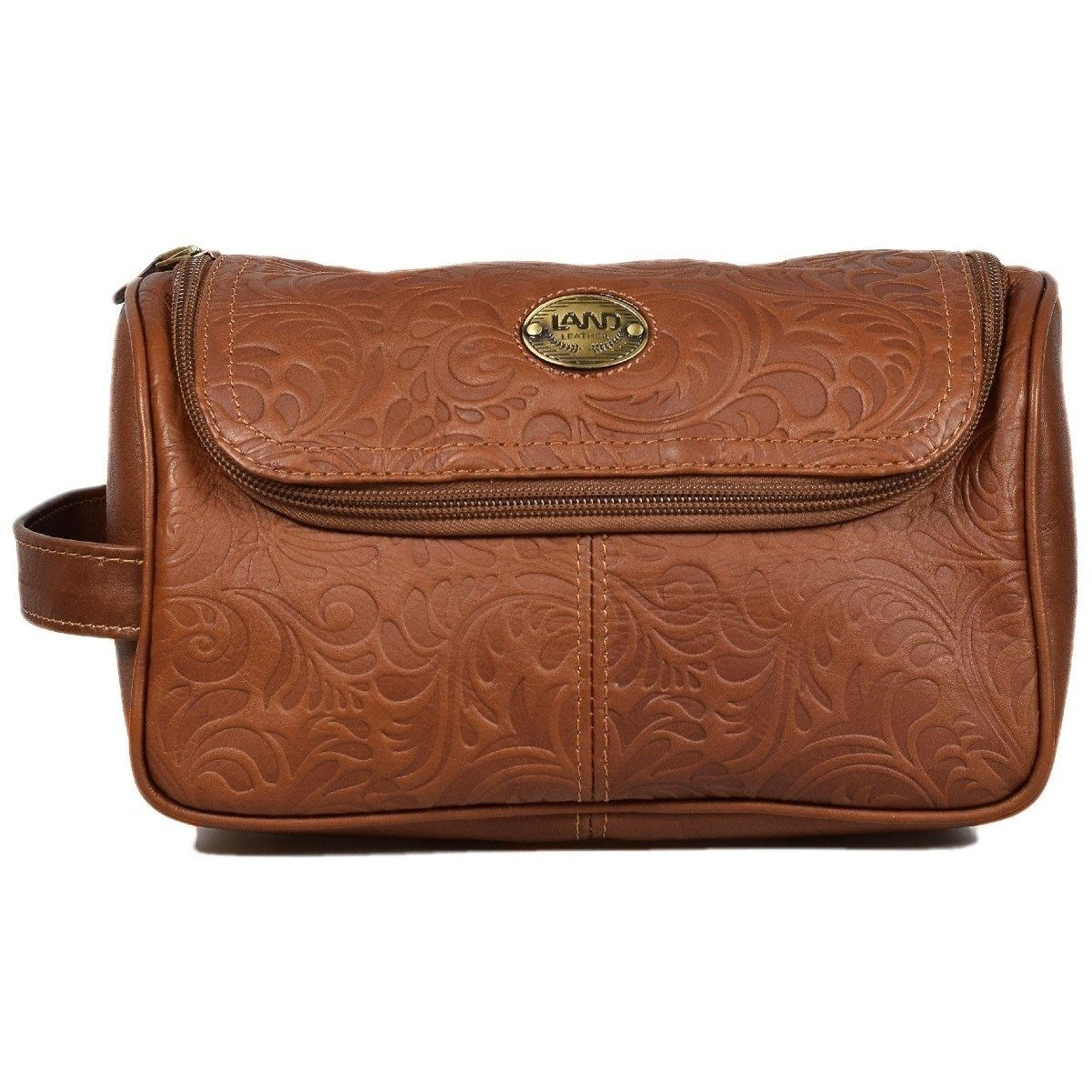 Santa Fe Toiletry Bag, Toiletry Bag | LAND Leather