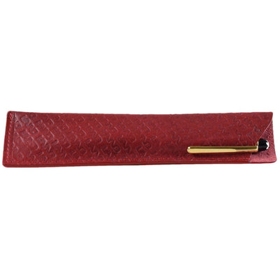 Leather Embossed Pen Holder, Pen Holder | LAND Leather