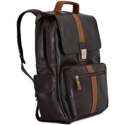 Voyager Executive Backpack, Backpack | LAND Leather