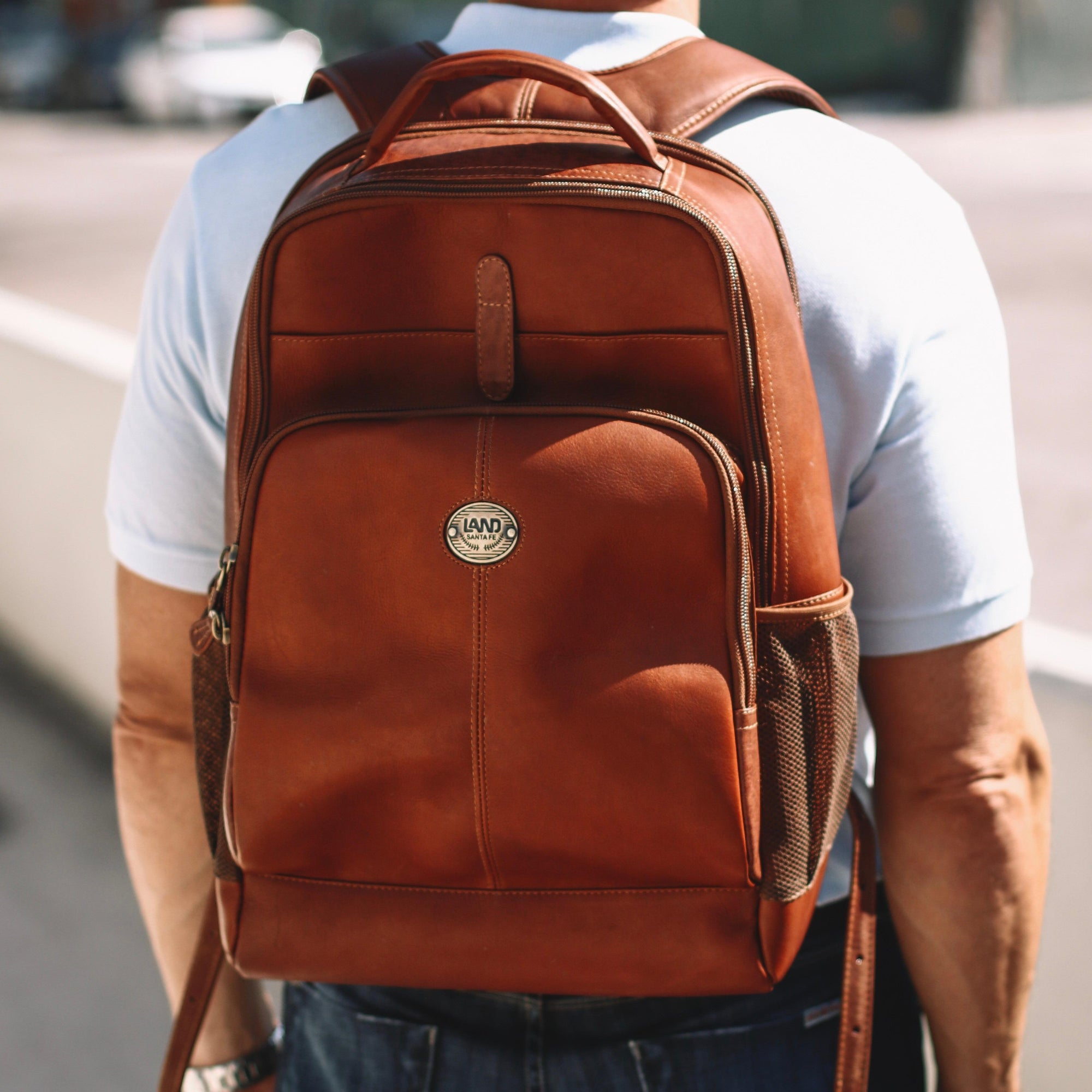 Santa Fe Odyssey Backpack, Backpack | LAND Leather