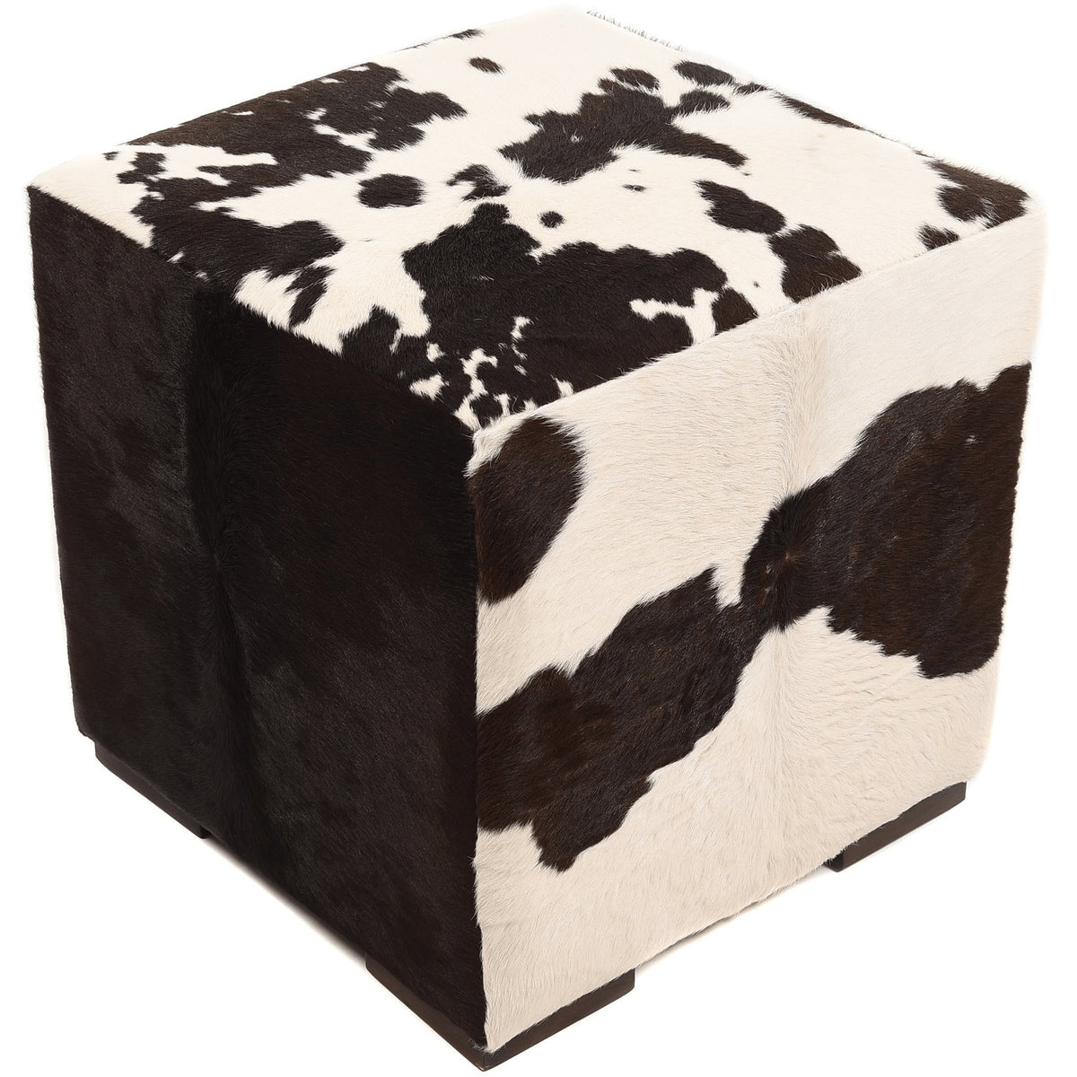 Natural Cowhide Pouf, LAND Puff | LAND Leather