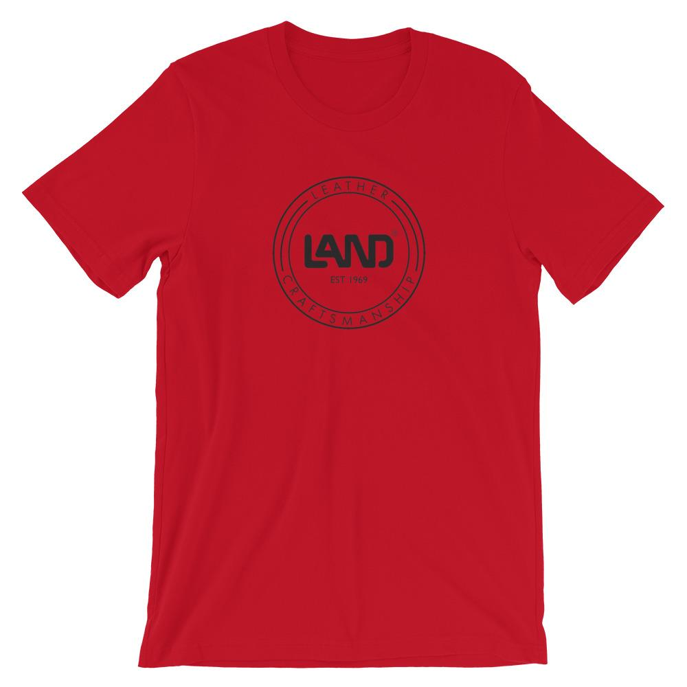 Short-Sleeve Unisex T-Shirt, T-Shirt | LAND Leather