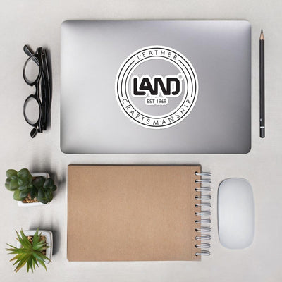 LAND Leather Bubble-Free Stickers
