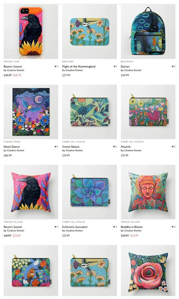 Creative Kismet at Society6