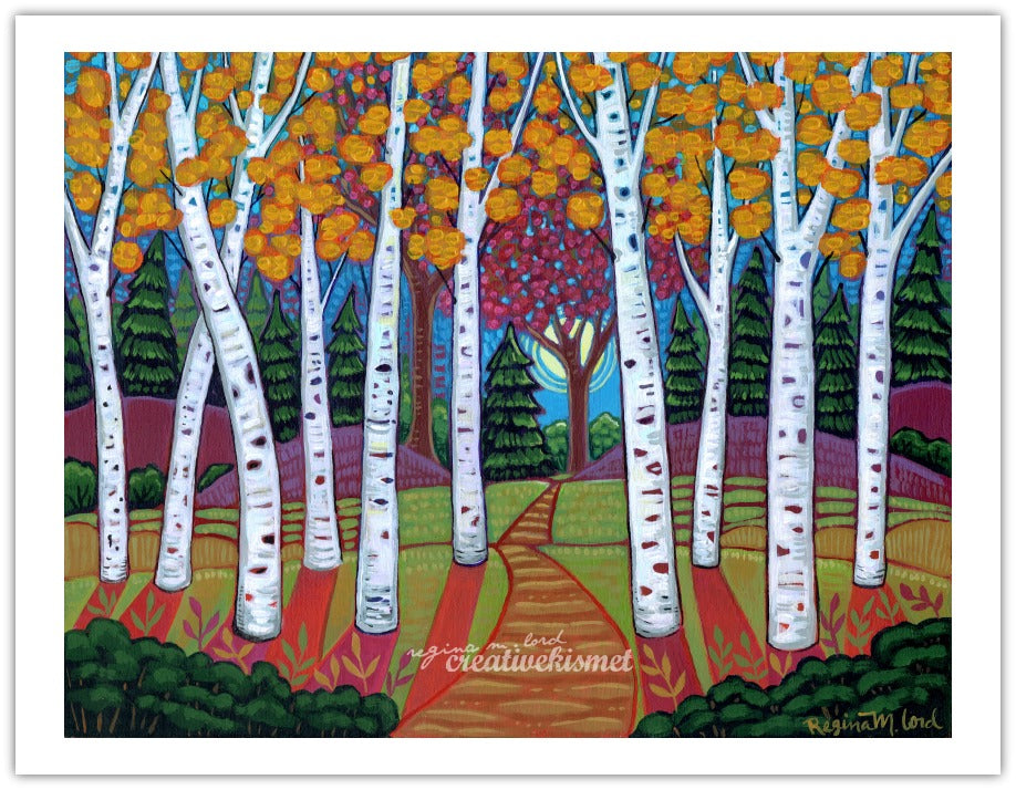 Aspen Trail - Art Print