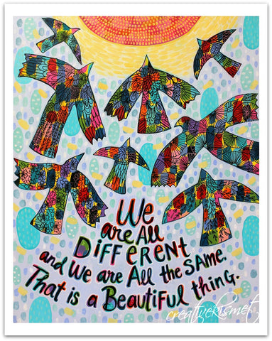 Different Same - Art Print
