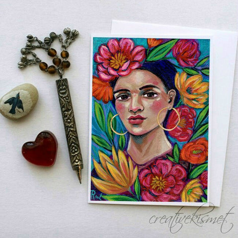 Beauty in Bloom - 5x7 Art Card with Envelope
