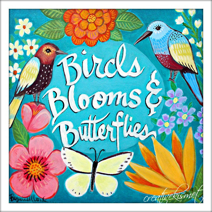 Birds, Blooms & Butterflies E-course