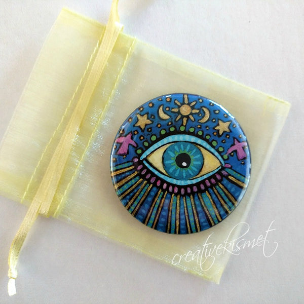 Celestial Eye - Pocket Mirror