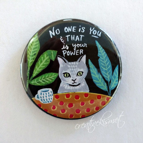 No One is You - Kitty - Pocket Mirror