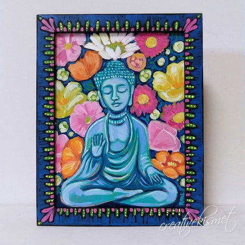 Abundant Buddha - Original Art by Regina Lord