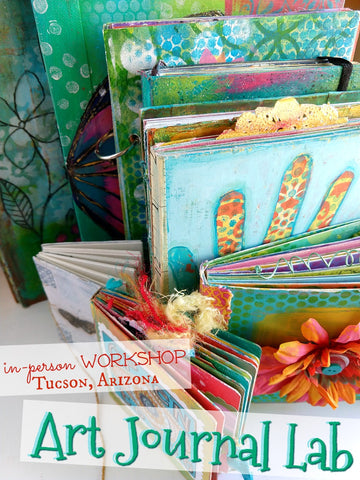 Art Journal Lab - In Person Workshop  September 30th - Tucson, AZ