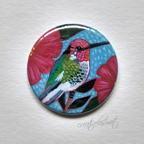 Anna's Hummingbird - Pocket Mirror