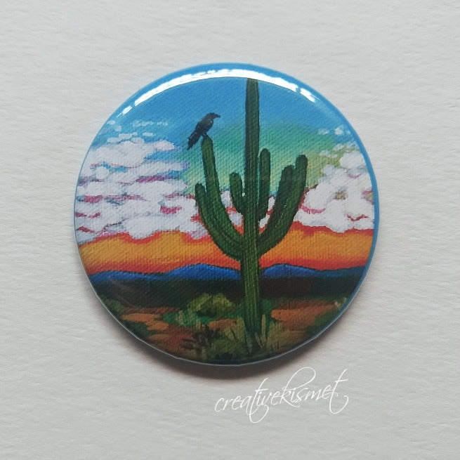 Arizona Sunset - Pocket Mirror