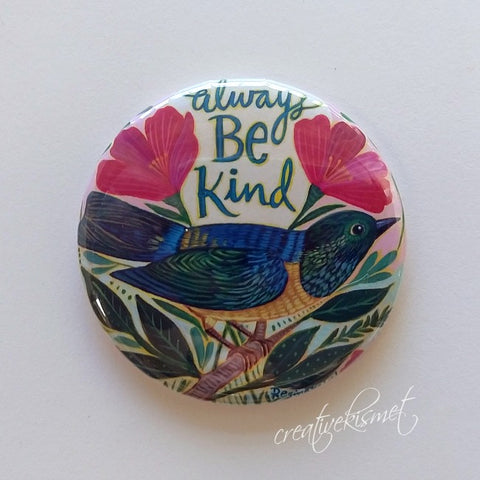 Always Be Kind - Pocket Mirror