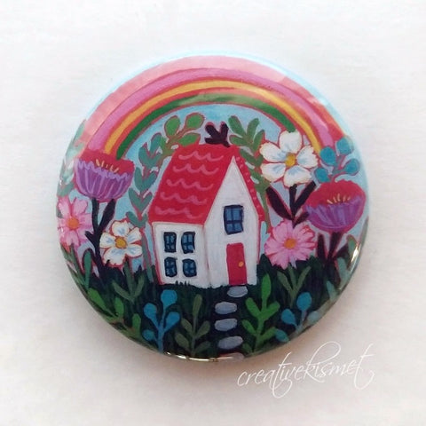 Sweet Home - Pocket Mirror