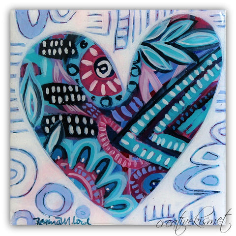 Abstract Heart - Original Art