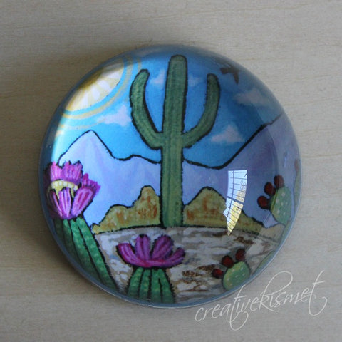 Saguaro Paperweight - small