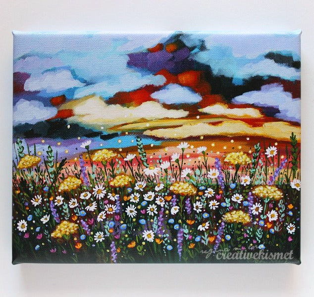 Post Storm Autumn Sky - Canvas Art Print