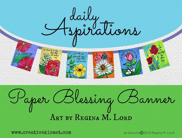 Paper Blessings Banner - Prayer Flags