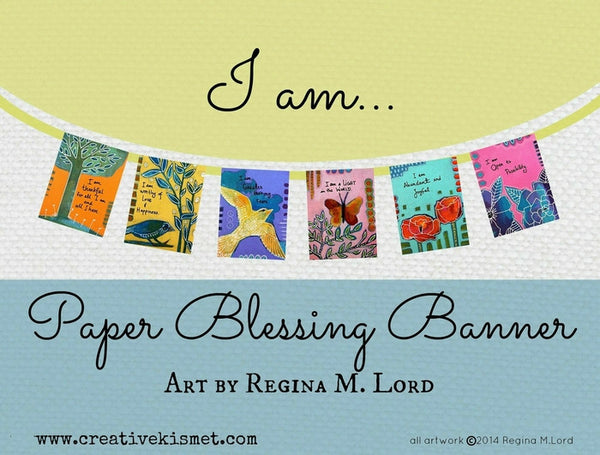 Paper Blessings Banner - I am Prayer Flags