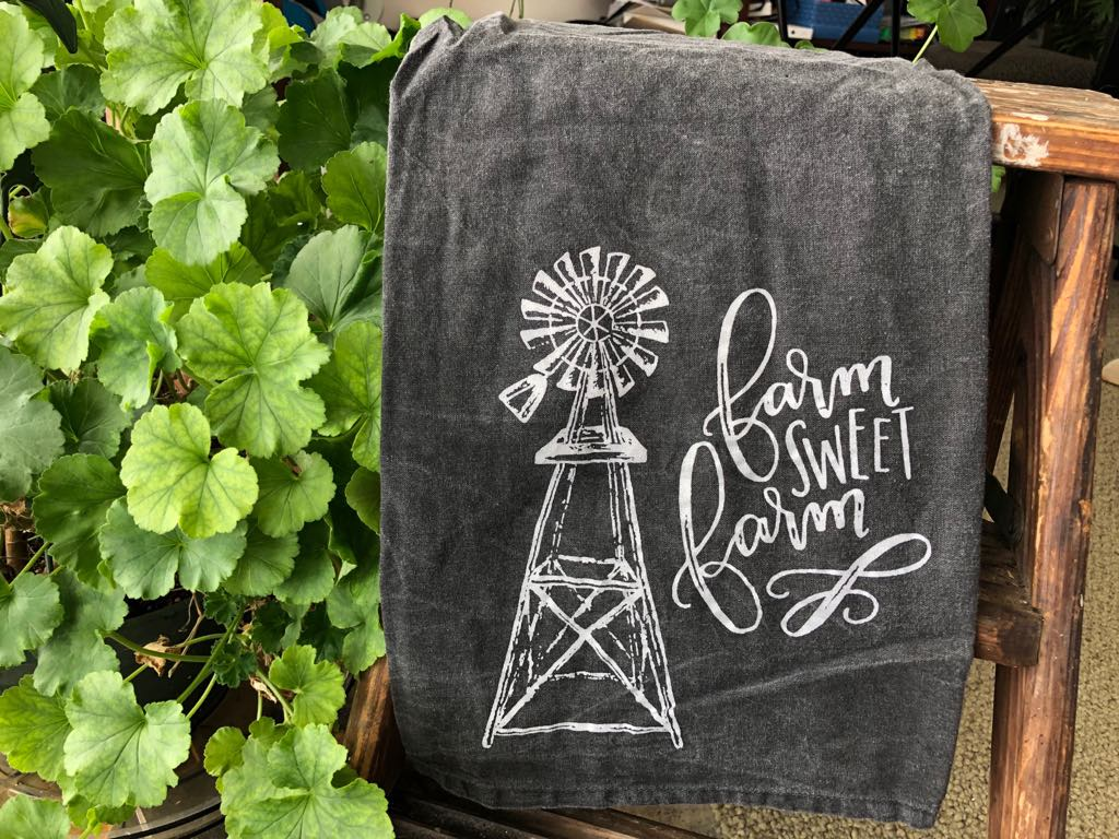 Dish Towel - Farm Sweet Farm
