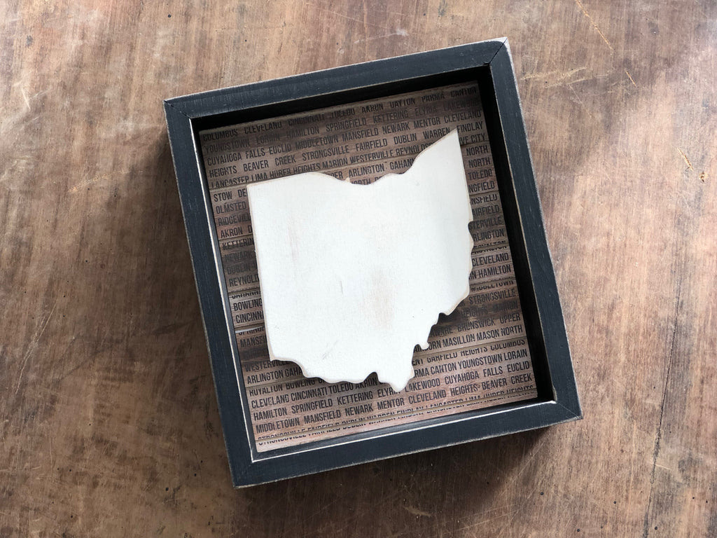 Box Sign - Ohio