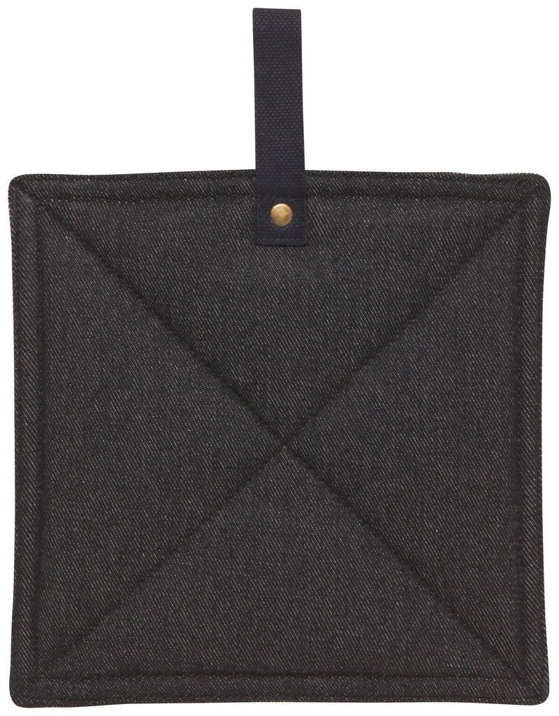 Pot Holder - Black Denim