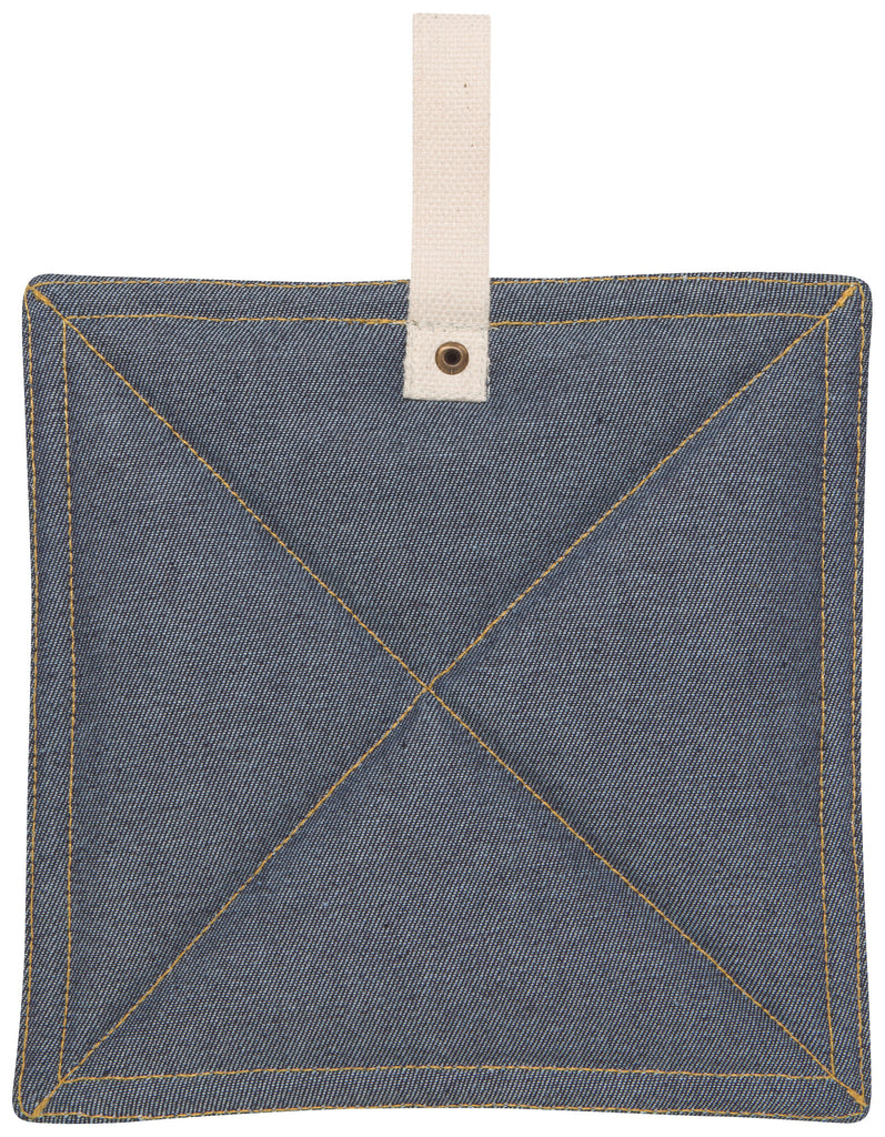 Pot Holder - Blue Denim