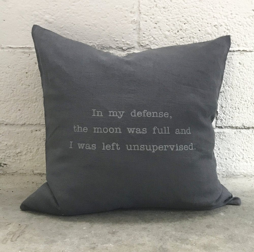 Pillow In My Defense