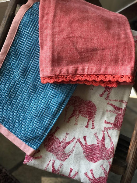 Dish Towel Set - Elephants