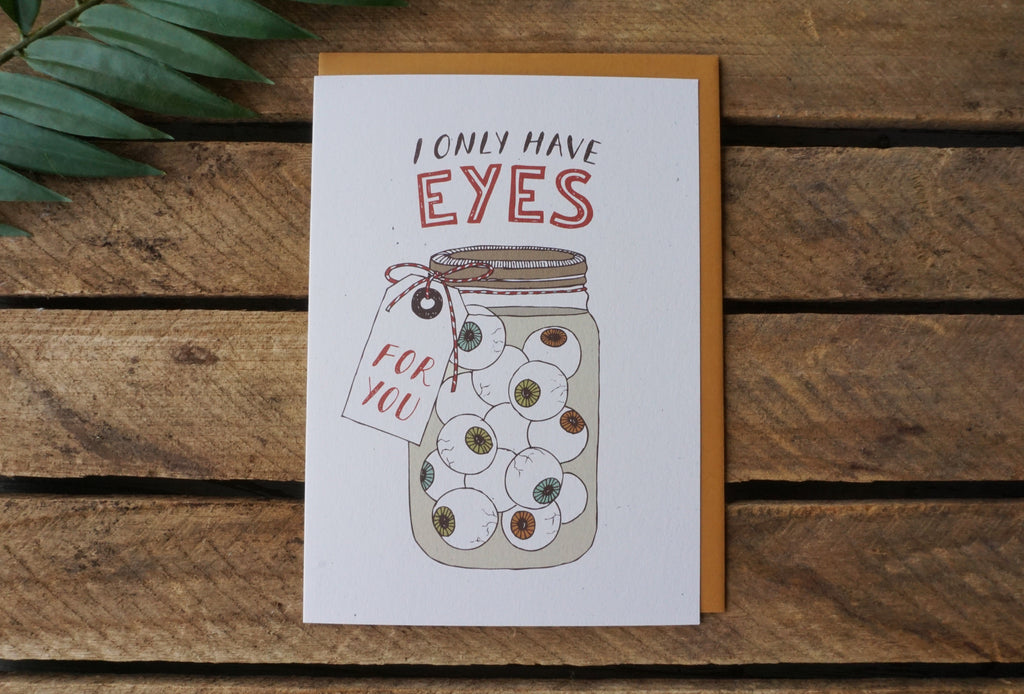 Greeting Card Eyes for You