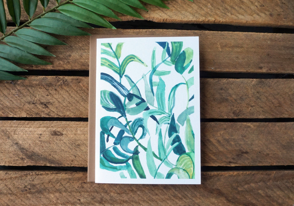 Greeting Card Foliage