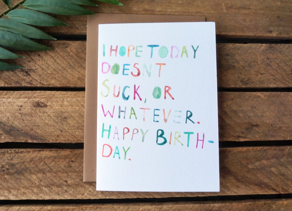 Greeting Card Whatever