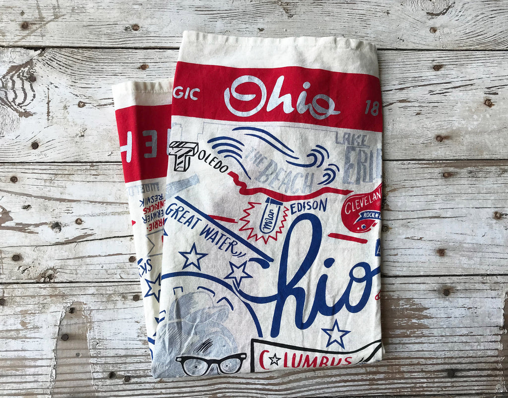 Dish Towel Ohio
