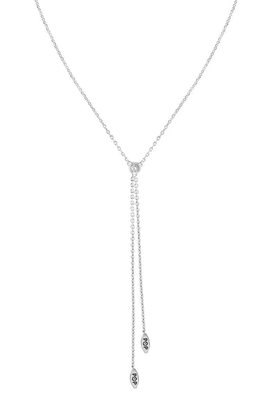 POP .10cts Diamond Lariat Necklace