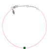 POP Emerald Birthstone Bracelet - MAY - POP Diamond Jewelry