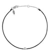 POP .10cts Diamond Bracelet/Anklet - Black/Sterling Silver